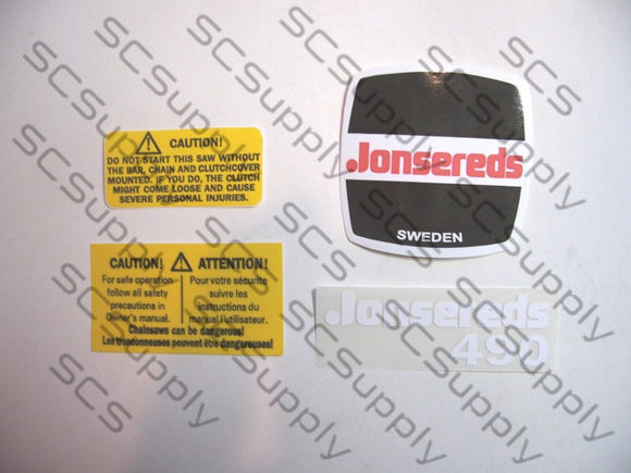 Jonsereds 490 decal set