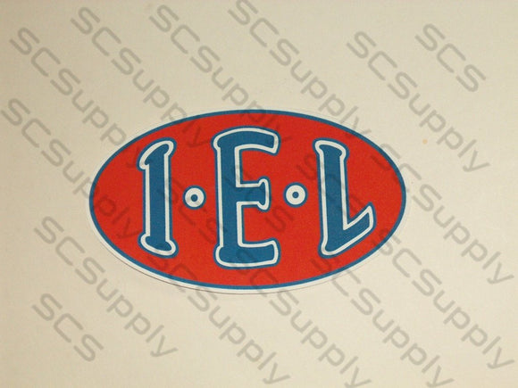 IEL (Oval Tank) decal