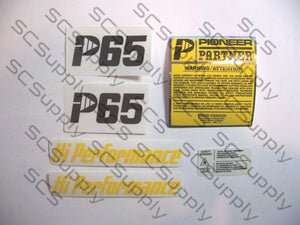 Pioneer/Partner P65 decal set