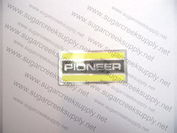 Pioneer Airbox Cover decal
