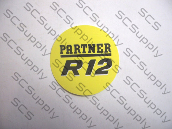 Partner R12 decal set