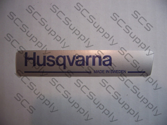 Husqvarna 242XP, 266XP, 268, 268XP, 272XP, 288XP  & others clutch cover decal