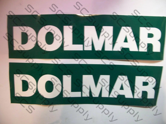 DOLMAR bar stencil set