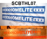 "Homelite ""Stars"" bar stencil set"