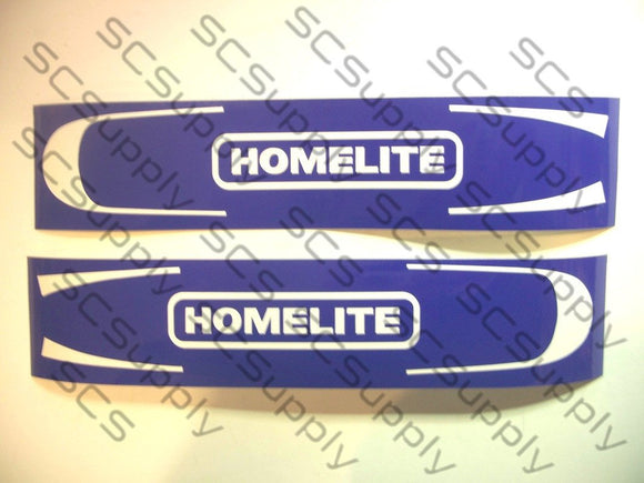 Homelite 14inch HardTip (SEZ, 150, XL100 series) bar stencil set