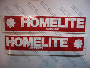 Homelite 16inch PowerTip (late XL-12 & Super XL) bar stencil set