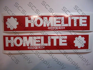 Homelite 16inch PowerTip (Super EZ, 150, XL101, XL102, XL103, XL104) bar stencil set