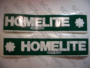 Homelite 20inch PowerTip (late XL-12 & Super XL) bar stencil set