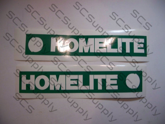 Homelite 16inch HardTip (XL, XL2 & Super 2) bar stencil set