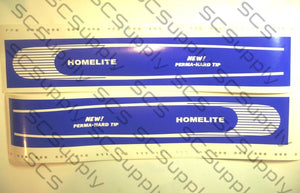 Homelite 20inch HT Fine Stripe (XL-100 series,SEZ) bar stencil set