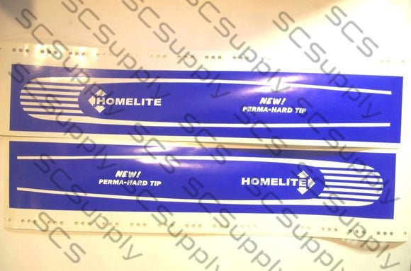 Homelite 20inch HT Coarse Stripe (XL-100 series,SEZ) bar stencil set