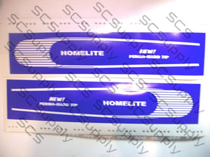 Homelite 16inch HT Fine Stripe (XL-100 series,SEZ) bar stencil set