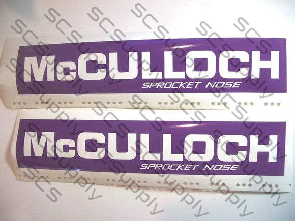 McCulloch Sprocket Nose (14.25