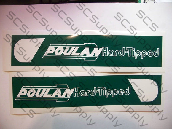 Poulan Hard Tipped (ver. 3) bar stencil set