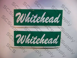WHITEHEAD bar stencil set