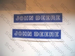 JOHN DEERE bar stencil set