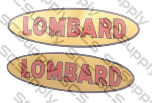 Lombard bar decals