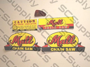 Mall 12A decal set with bar decal set