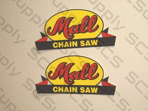Mall bar decals