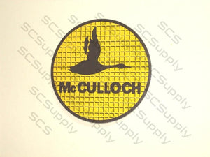 "McCulloch ""Plaid Goose"" Window Decal"
