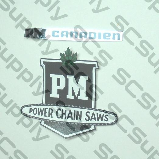 PM Canadien decal set