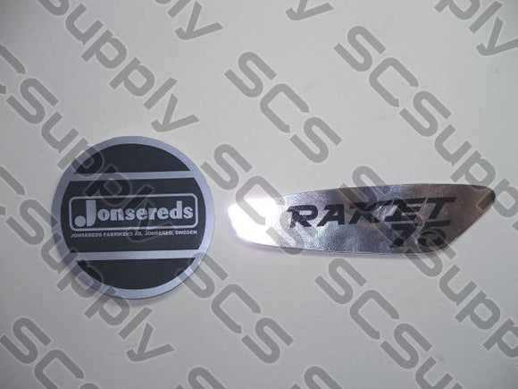 Jonsereds Raket 75 decal set