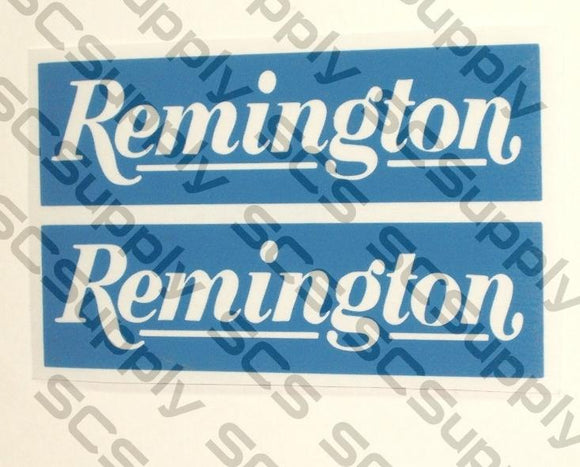 Remington bar stencil set