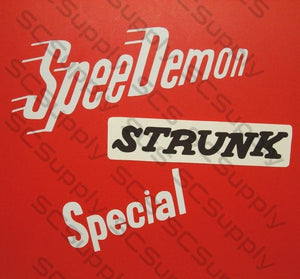 "Strunk ""Special"" decal set"