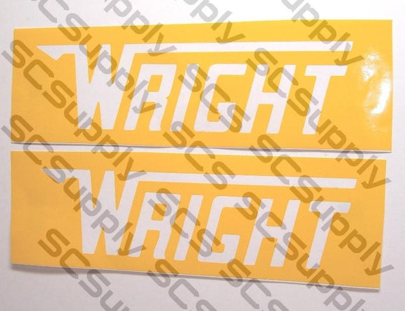 Wright bar stencil set