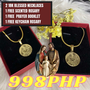 The HOLY FAMILY Medallion Bundle