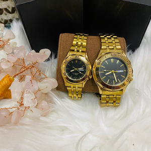 Couple watch with FREE 14k Couple Bracelet