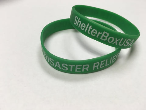 ShelterBoxUSA Green Wristband