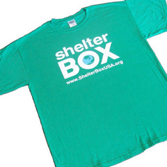 ShelterBox T-Shirt - Green