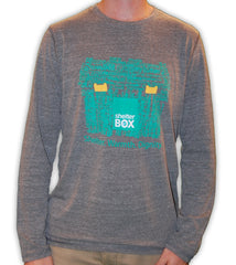 ShelterBox Long Sleeved Grey Shirt