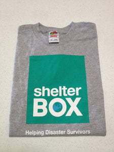 ShelterBox Youth Sport Grey Tee