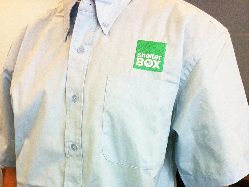 ShelterBox Oxford Shirts Short Sleeve