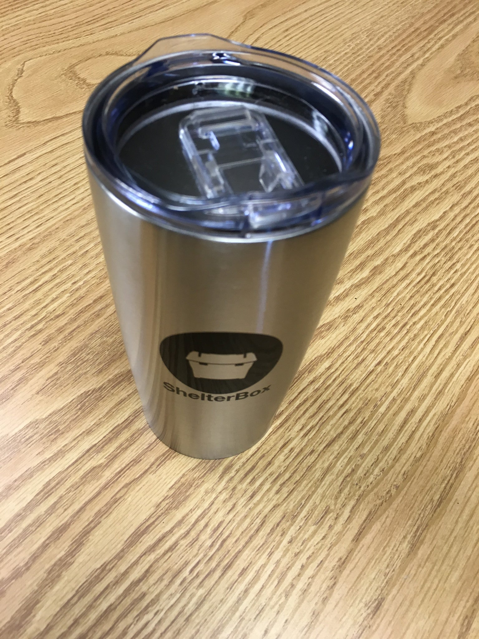 ShelterBox Stainless Steel Tumbler