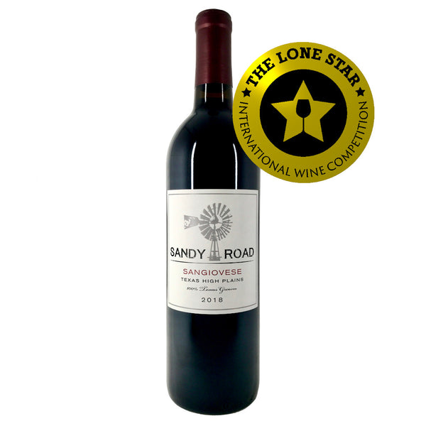 GOLD Medal Winner and Best International Sangiovese