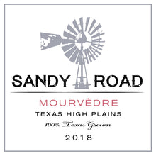 Load image into Gallery viewer, Sandy Road Mourvédre 2018 Texas High Plains