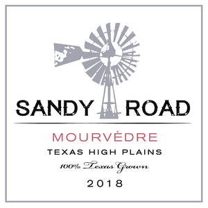Sandy Road Mourvédre 2018 Texas High Plains