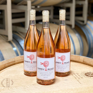 Sandy Road Sangiovese Rosé 2019 Texas High Plains