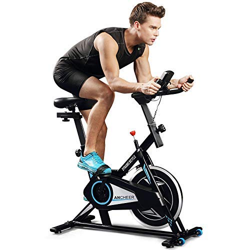 ANCHEER quiet belt Indoor Cycling Bike