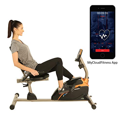 1500XL Bluetooth Smart Cloud Fitness High Capacity Recumbent Bike