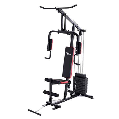 Goplus Multifunction Home Gym System for Total Body Training