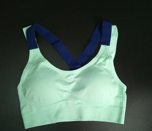Cross Strap Back Women Sports Bra Professional