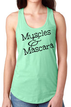Muscles and Mascara Racer back Tank fitness tank