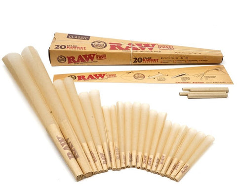 RAW 20 Stage Rawket Launcher Pre-Rolled Cones