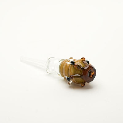 Honey Straw Beehive by Empire Glassworks