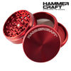 Aluminum Grinder 4 PC, Hammercraft-I Smoke Fresh, online smoke shop.