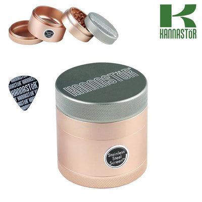 Kannastor grinder solid with solid body 4 pcs 2.2""
